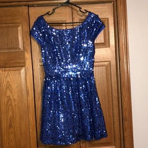 💙Gorgeous Blue Sequin Dress💙
